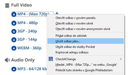 Jak stáhnout video z youtube online