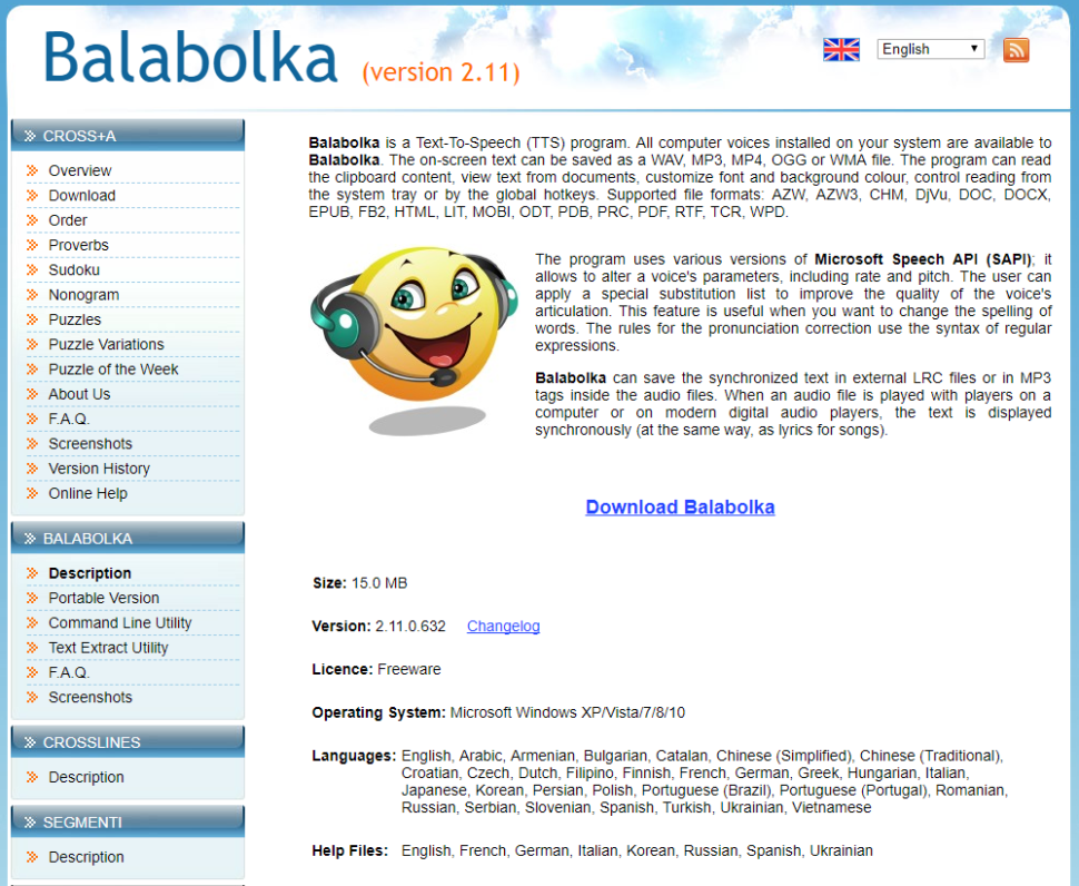 balabolka linux